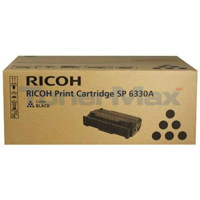 RICOH SP 6330NA AIO PRINT CARTRIDGE BLACK